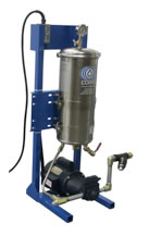 Photo of a Cutting and Stamping Oil Recycling Dual Unit.