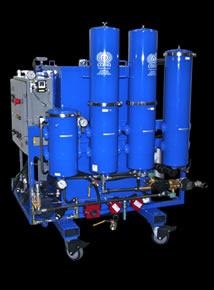 High Viscosity Oil Flushing Systems