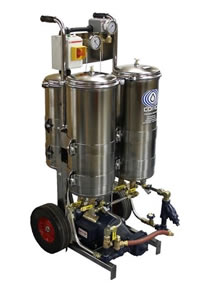 Photo of an Hydraulic and Lube Oil Filtration System.